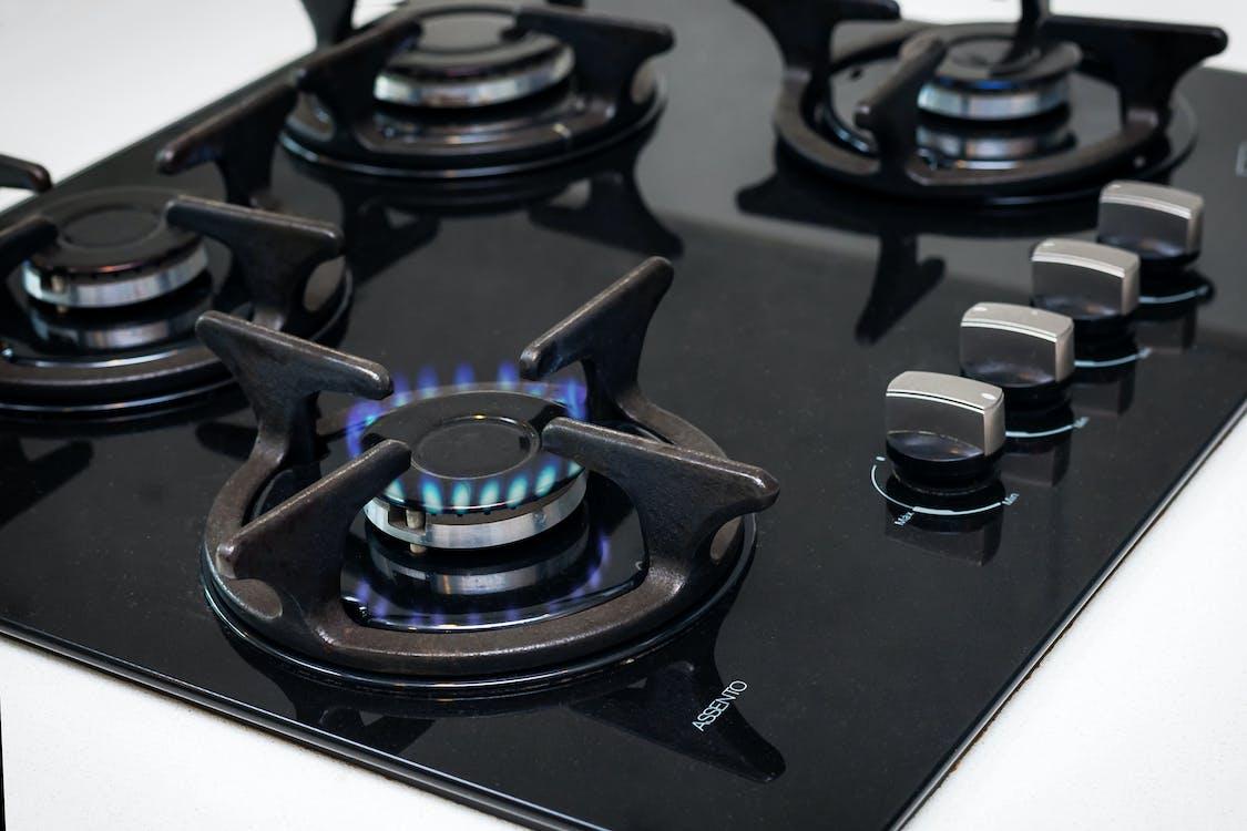 gáztűzhely, konyha, tűzhely