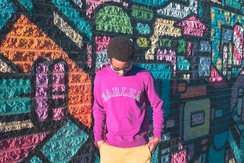 Darmowe zdjęcie z galerii z artystyczny, czarnoskóry, graffiti, kolorowy