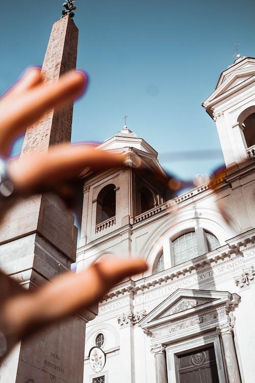Foto profissional grátis de ao ar livre, arquitetura, capela, catedral