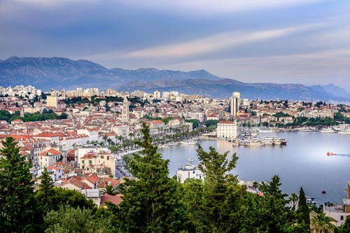 Free stock photo of city view, croatia, harbour, mediterranean sea