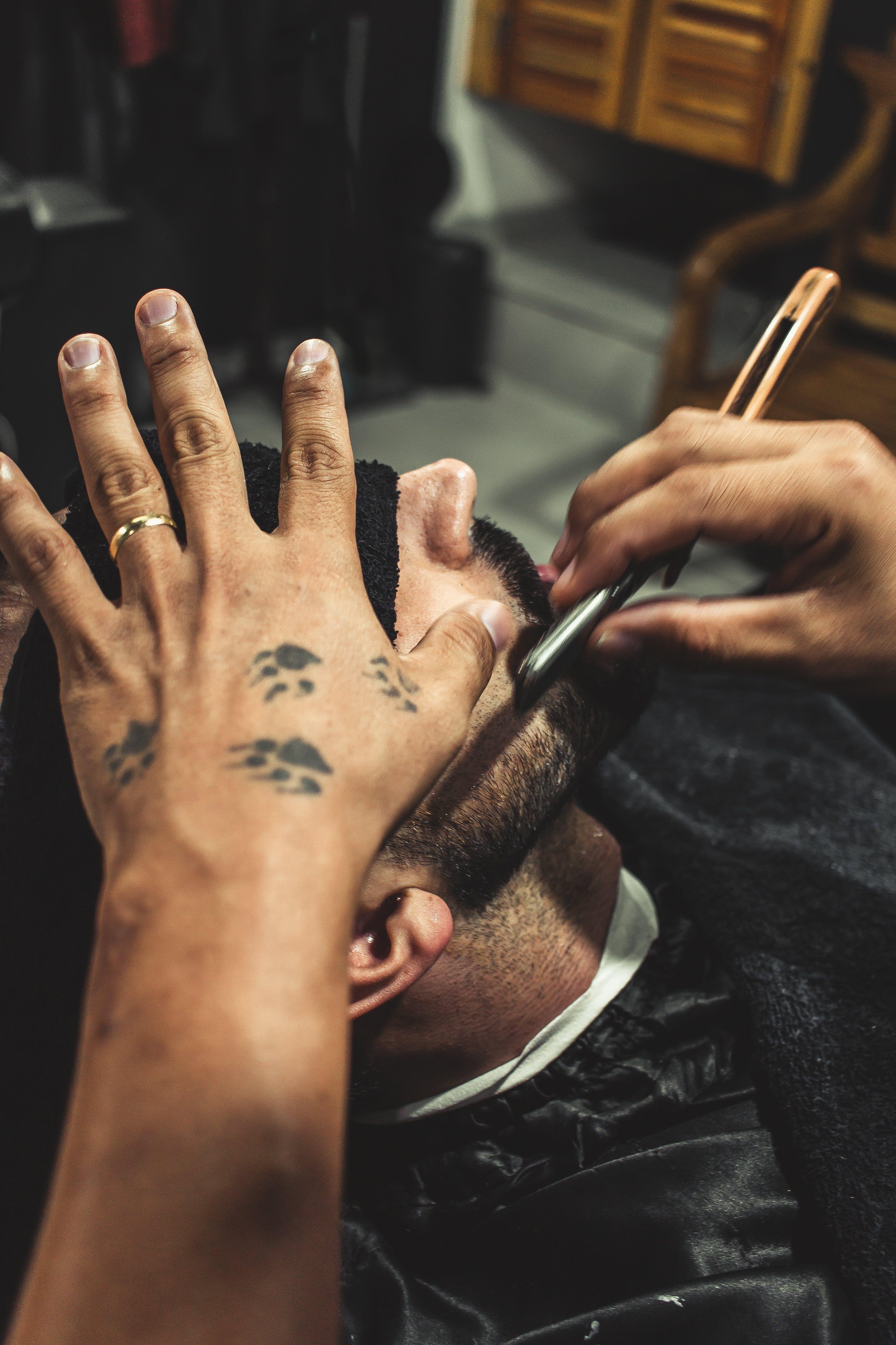 Foto d'estoc gratuïta de afaitar, barber, barberia, bri