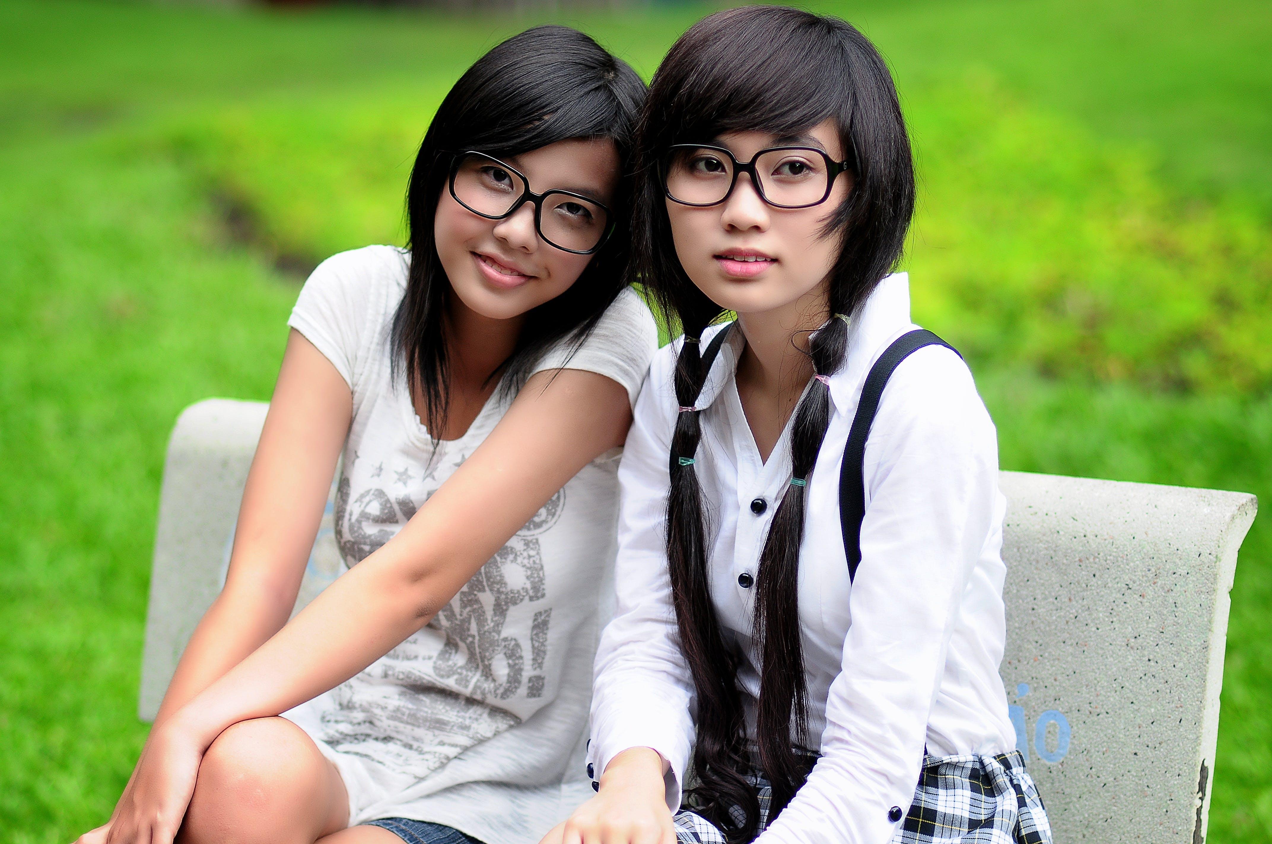 Asian, attractive, cute