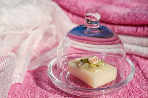Miniature Glass Dome Tray