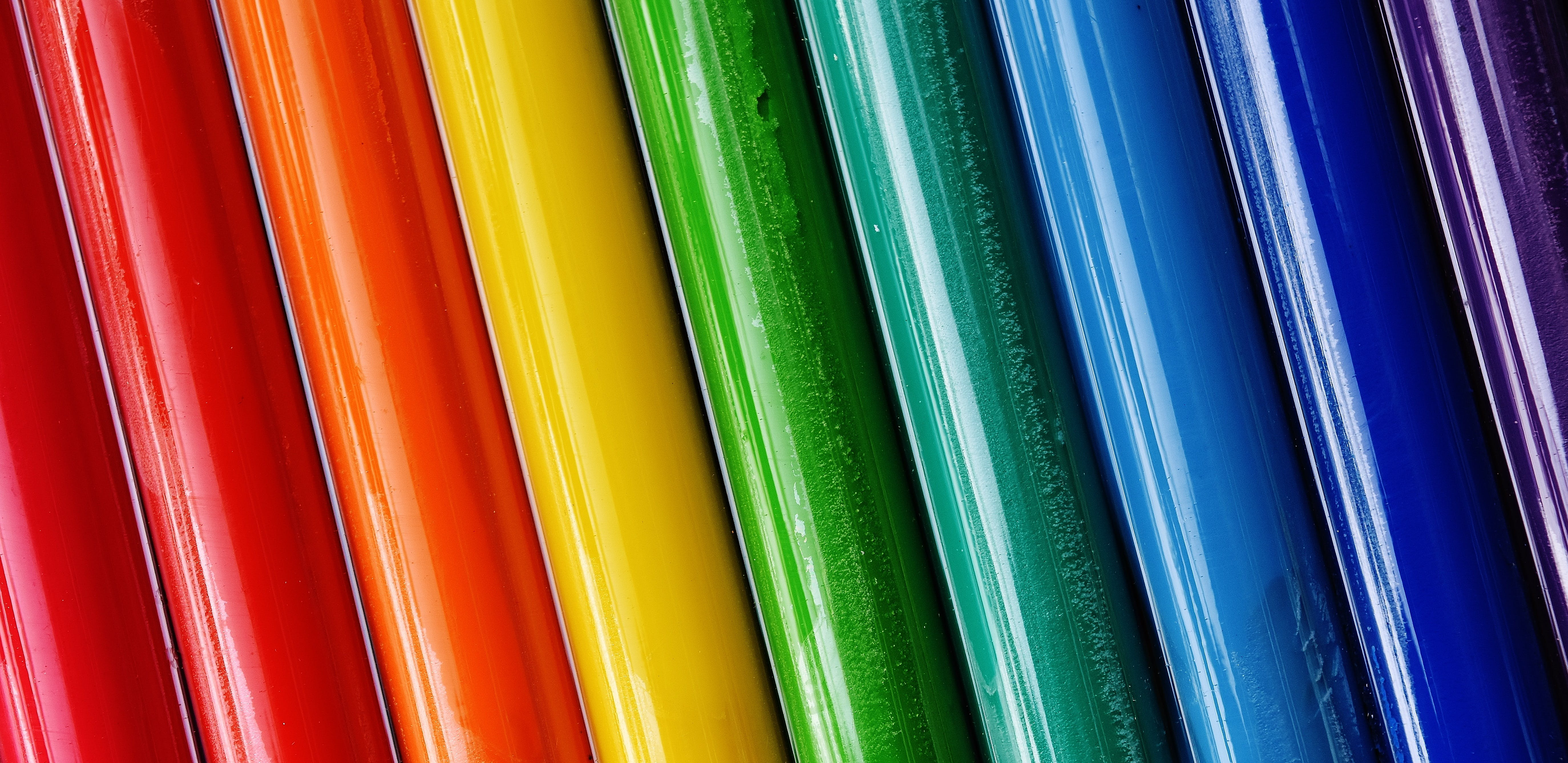 Closeup Photo of Assorted-color Rods