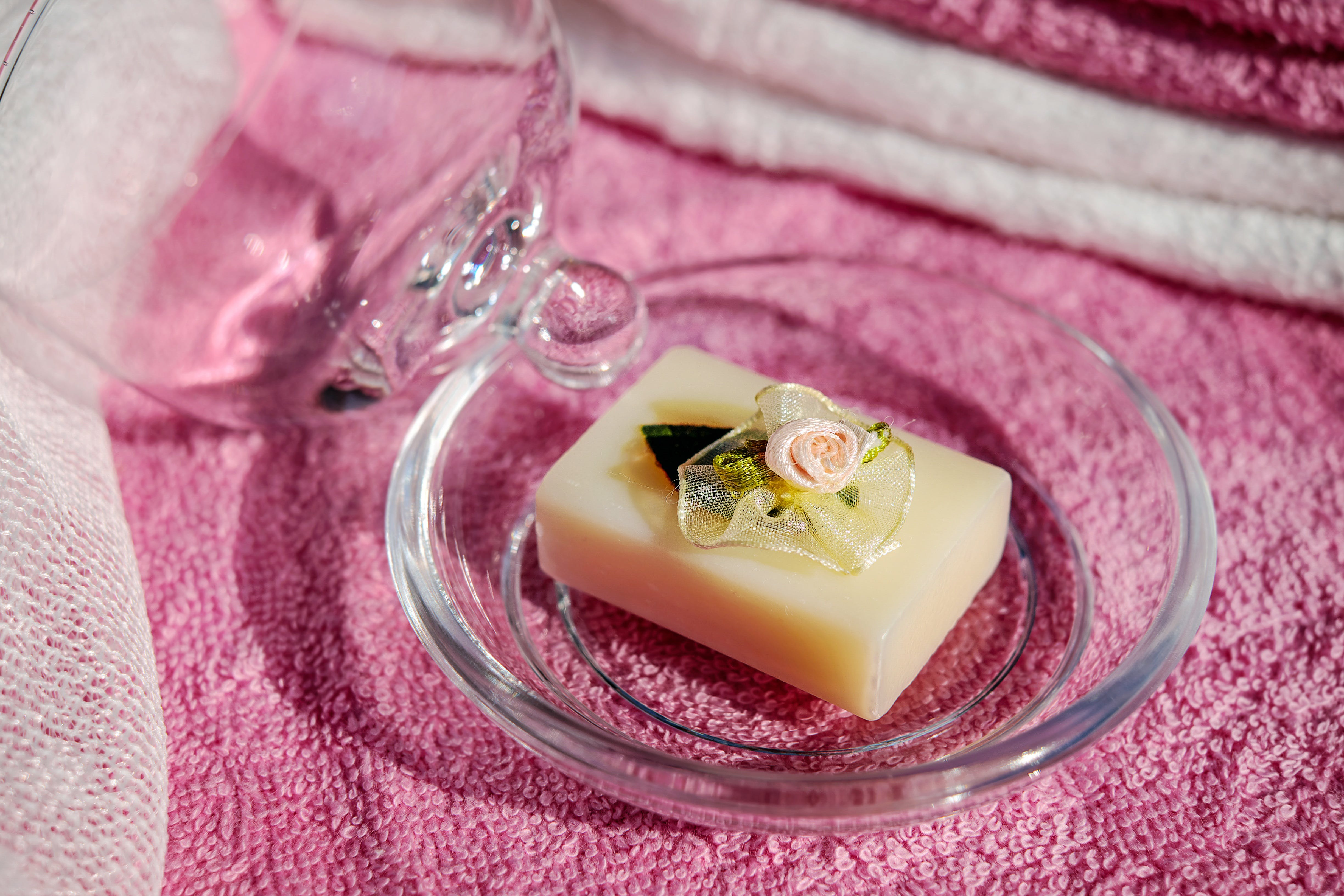 Free stock photo of romantic, glass, soap, health