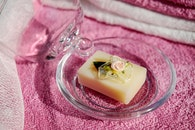 romantic, glass, soap