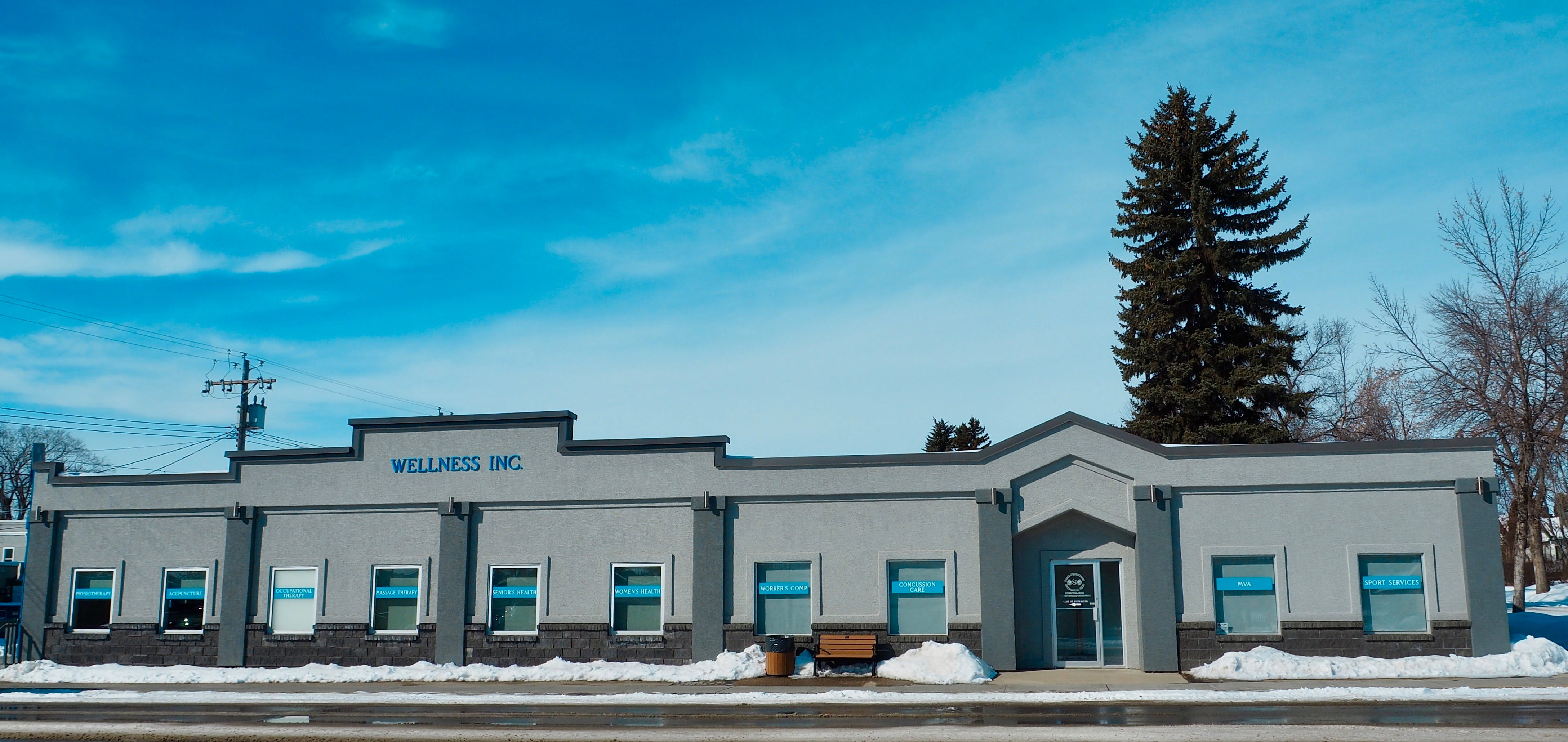 Free stock photo of building with blue skies, Wellness centre
