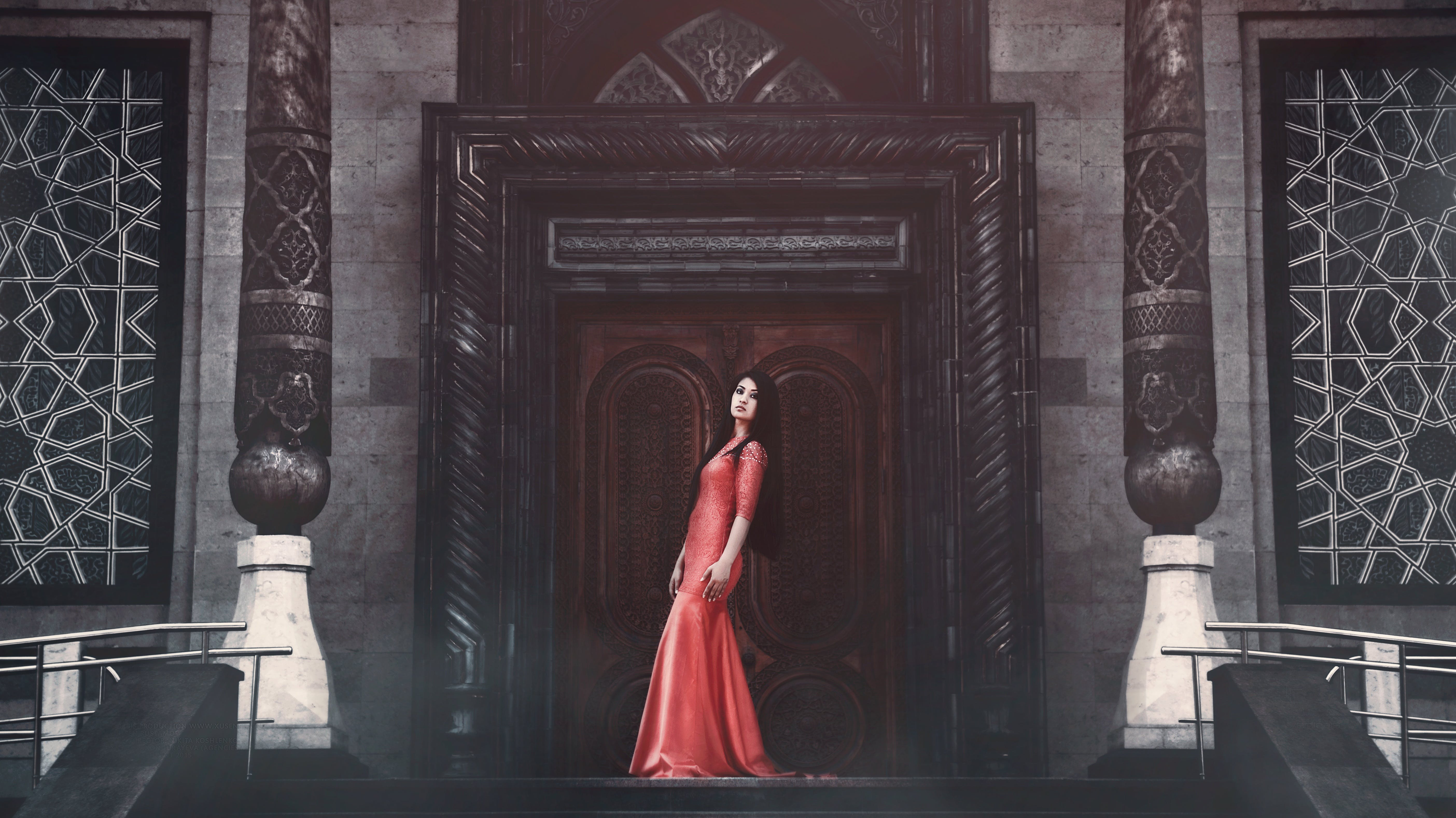 door, dress, fashion