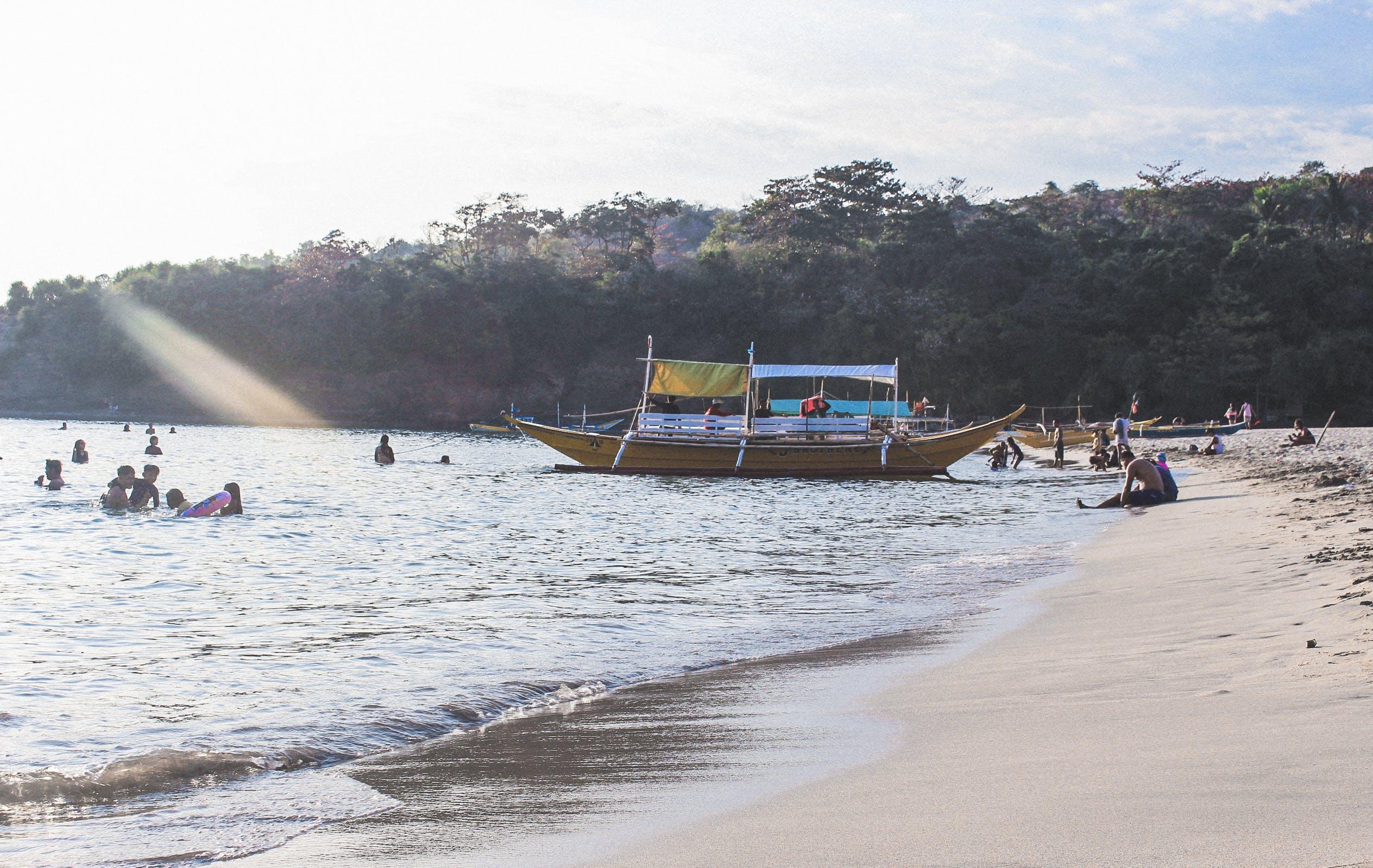 Foto d'estoc gratuïta de barca, Filipines, platja, Vida de platja