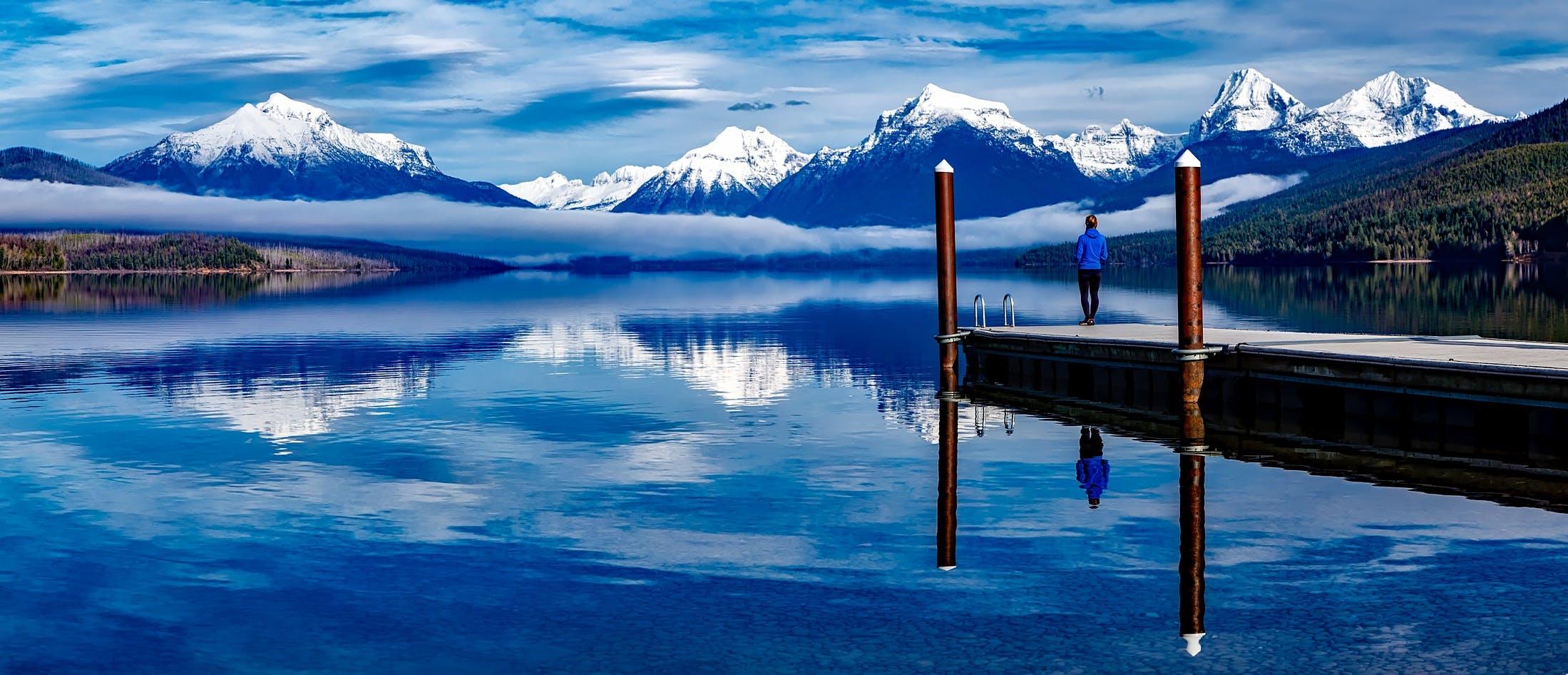 Kostenloses Stock Foto zu abenteuer, alpen, berge, dock