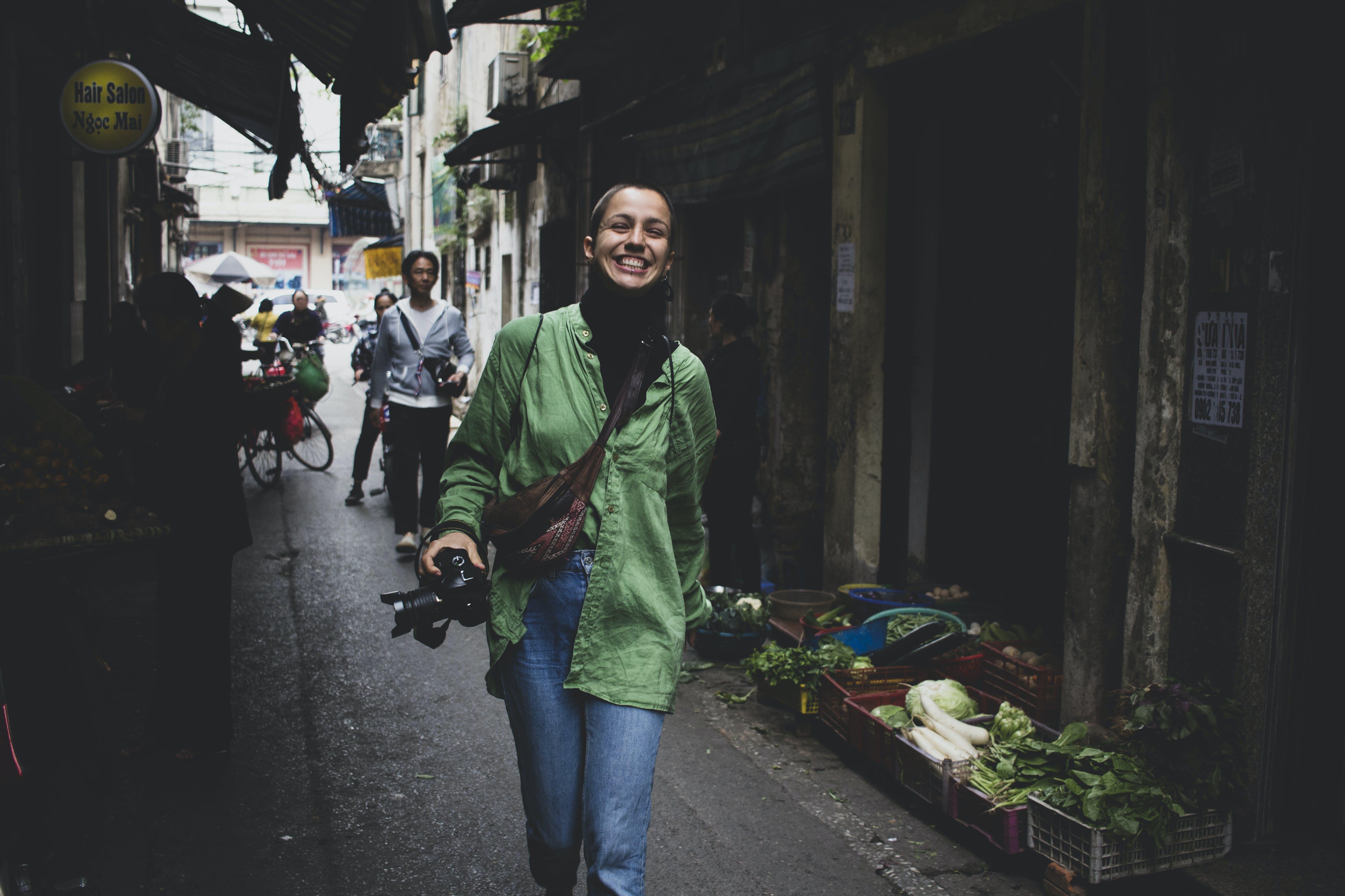 Foto d'estoc gratuïta de acció, càmera, carrer, carretera