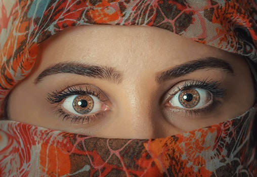 Free stock photo of woman, girl, eyes, beauty