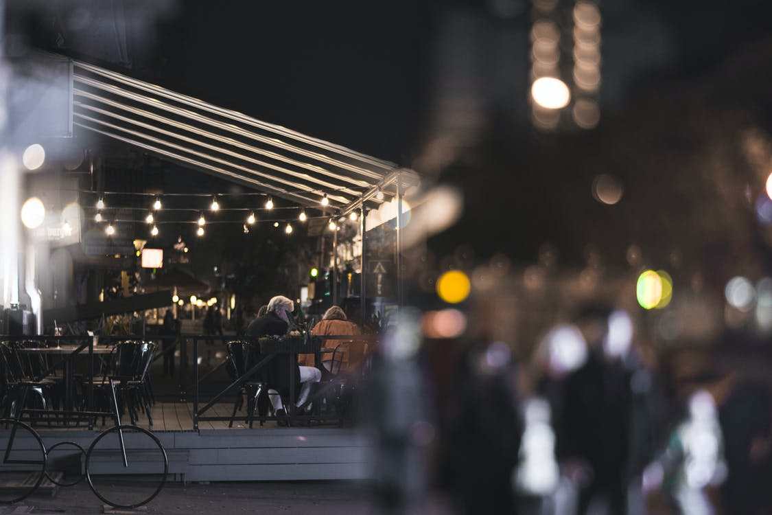 4k-háttérkép, chill, éjjeli lámpa