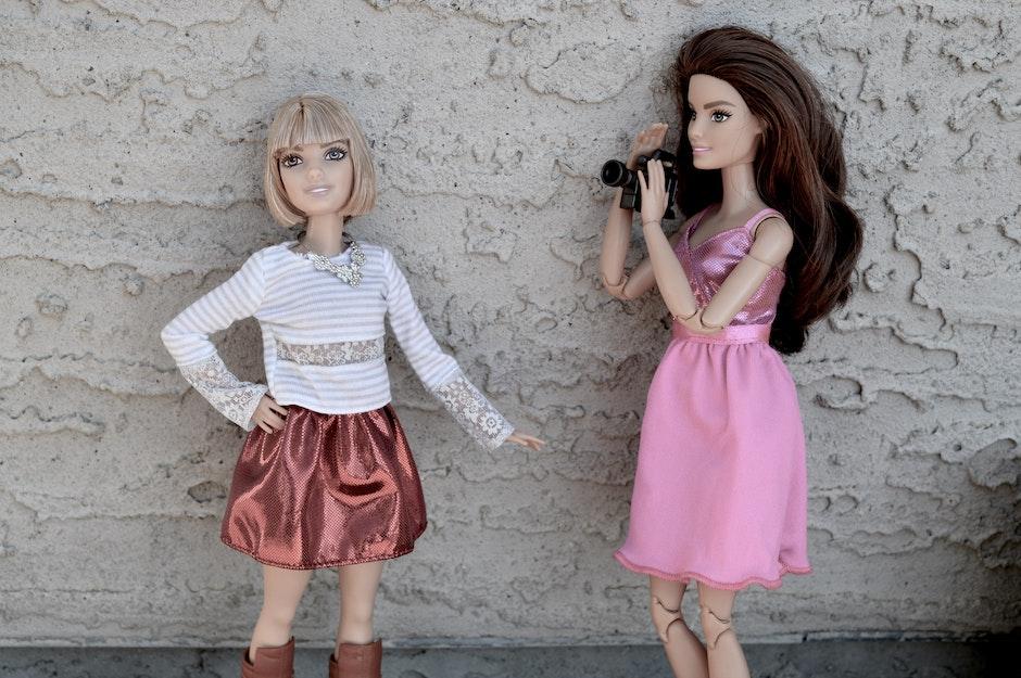 attractive, Barbie, blonde