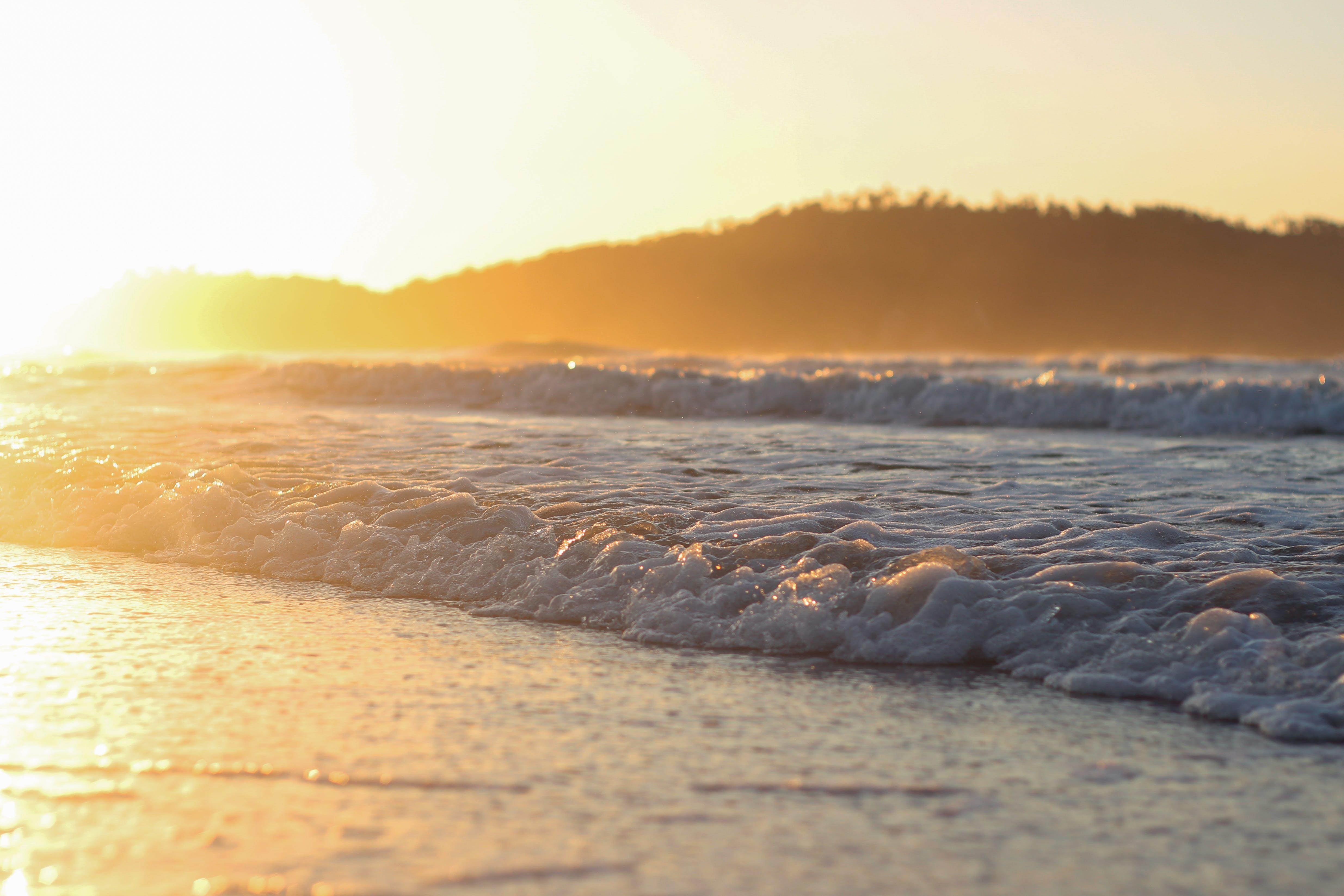 Free stock photo of beach, blue, brazil, florianopolis