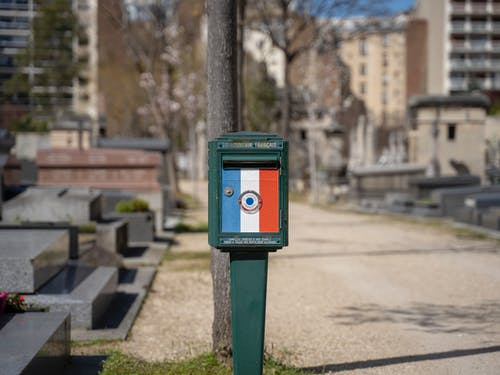 Бесплатное стоковое фото с кладбище, почта, франция
