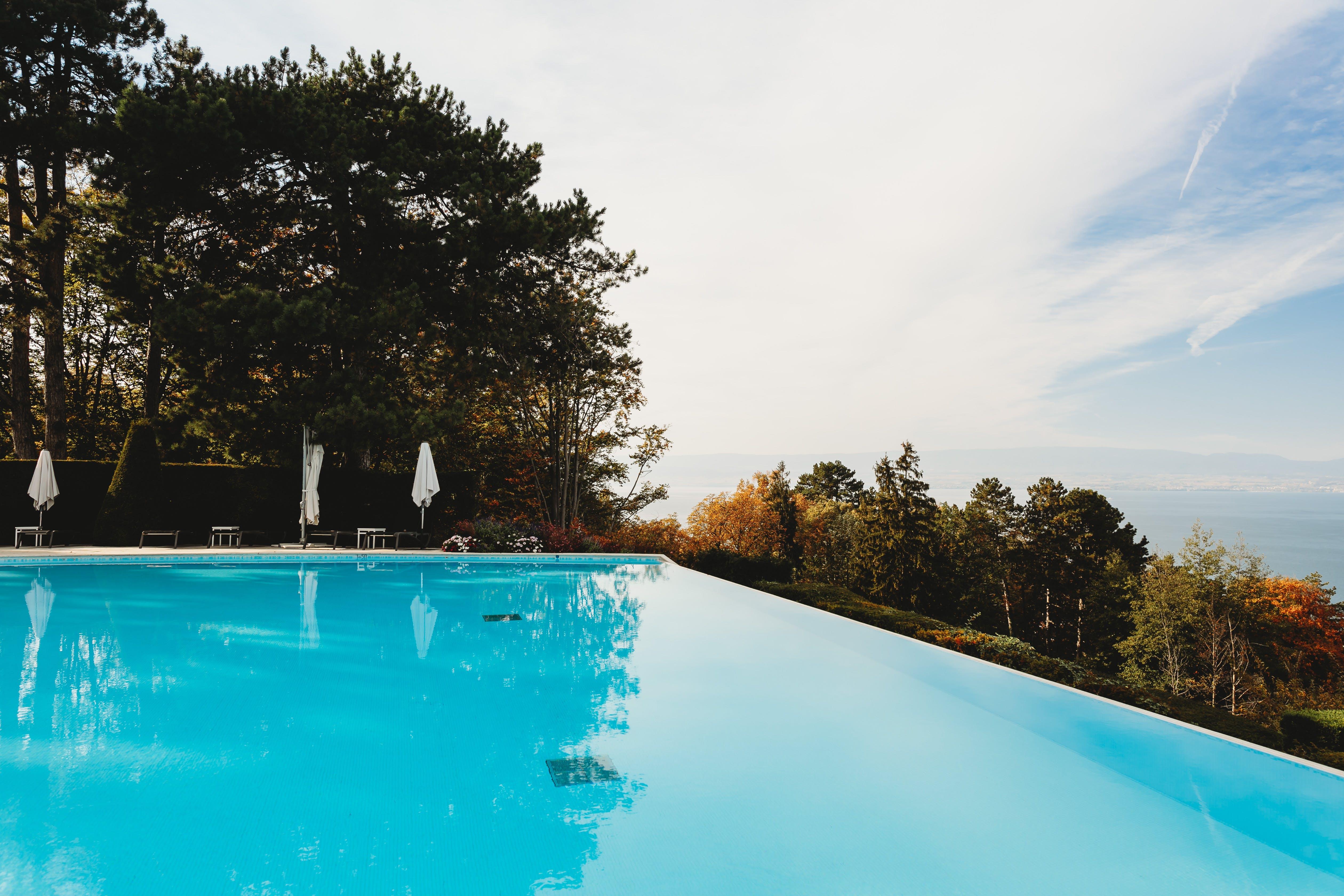 Foto d'estoc gratuïta de piscina, piscina excavada, recurs