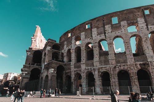 Безкоштовне стокове фото на тему «амфітеатр, Арка, архітектура, Будівля»