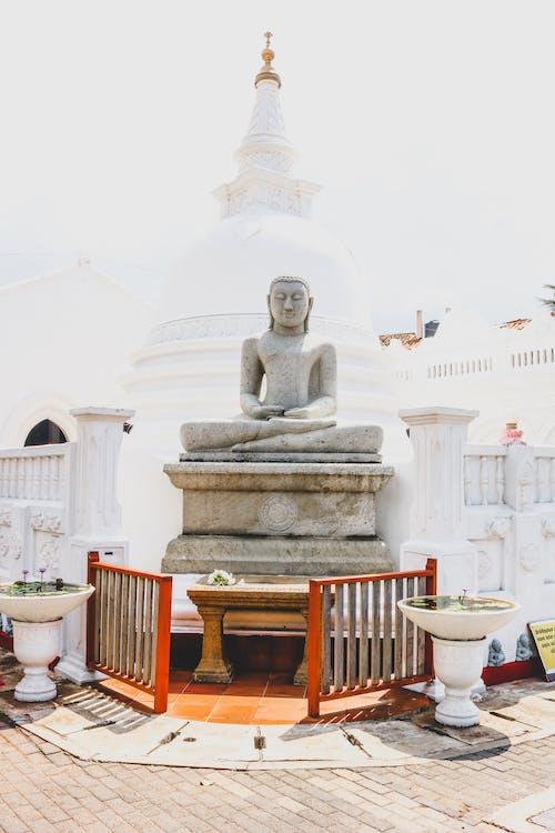 Kostnadsfri bild av buddha, konst, religion, skulptur