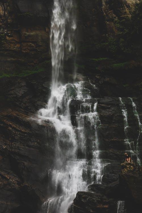 Foto d'estoc gratuïta de aigua, cascades, flux d'aigua, medi ambient