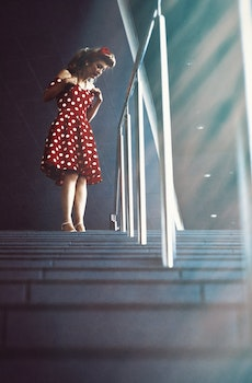 Free stock photo of stairs, light, fashion, red