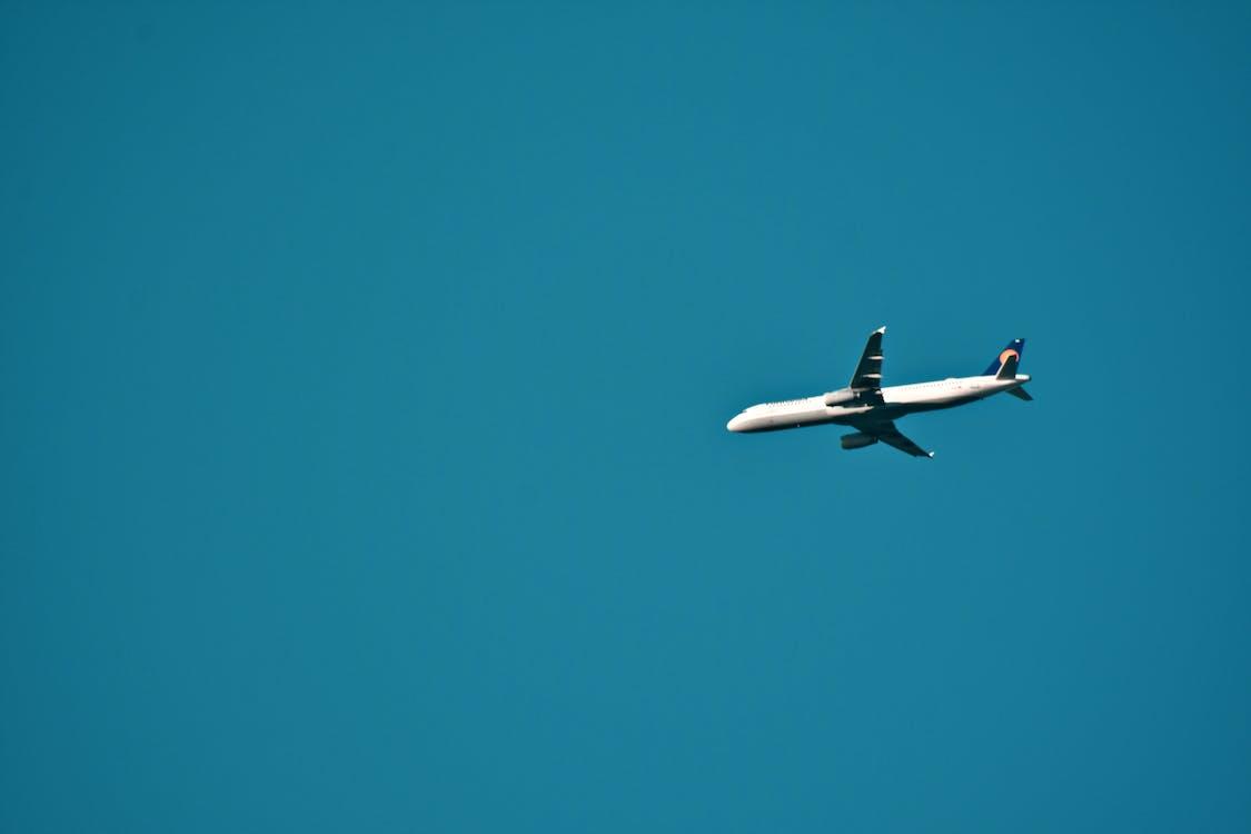 aeroplano, aviazione, cielo