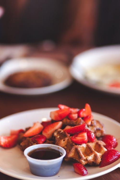 可口的, 早午餐, 漿果, 盤子 的 免費圖庫相片