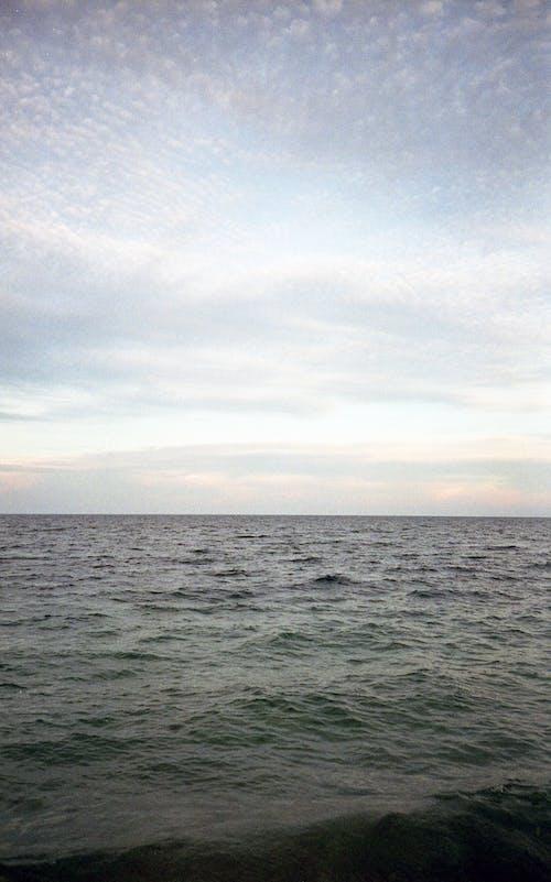 Imagine de stoc gratuită din ape calme, cer, corp de apă, expunere lungă