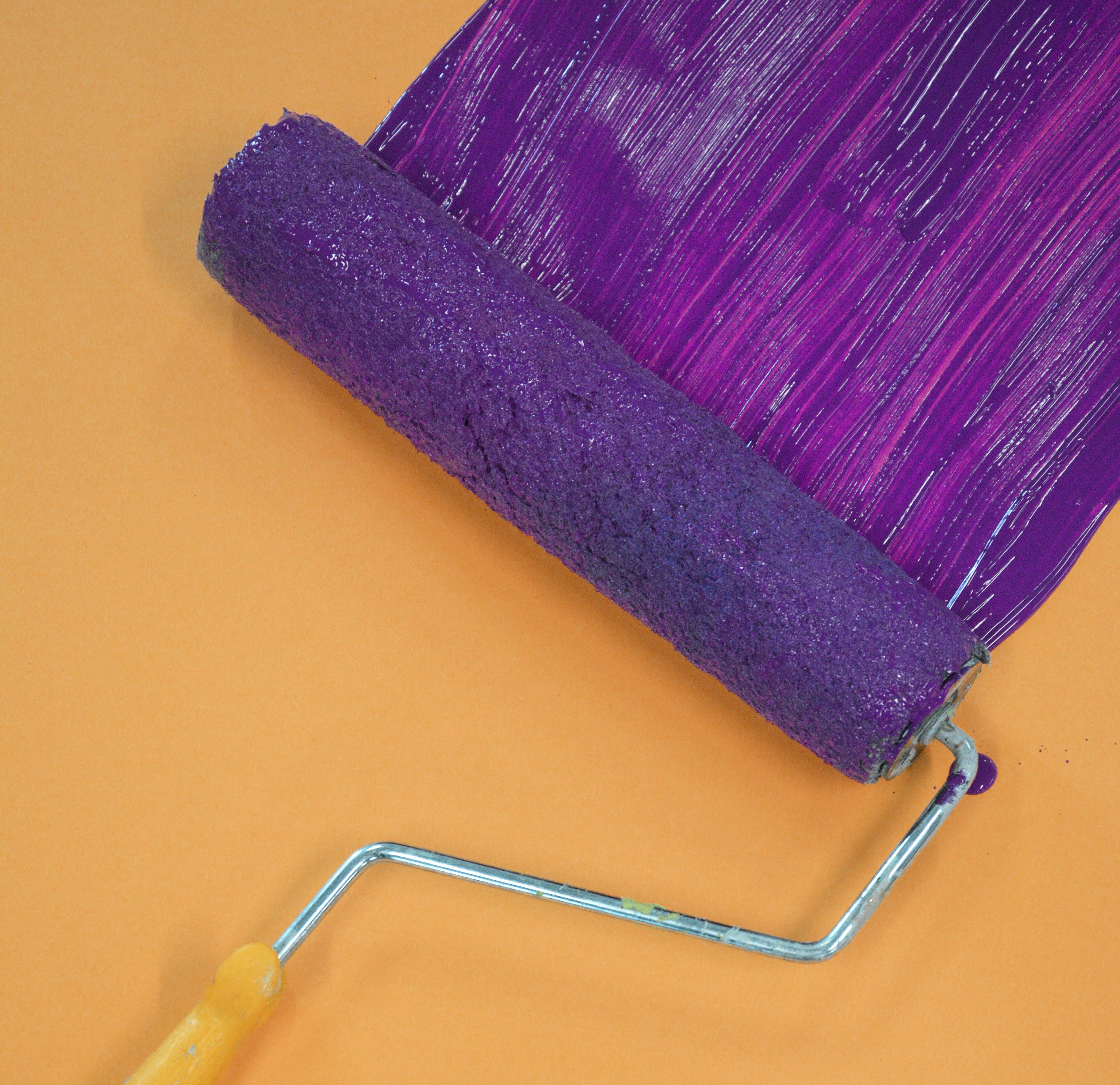 Photos gratuites de art, brosse à dents, brosse à rouleau, colorer