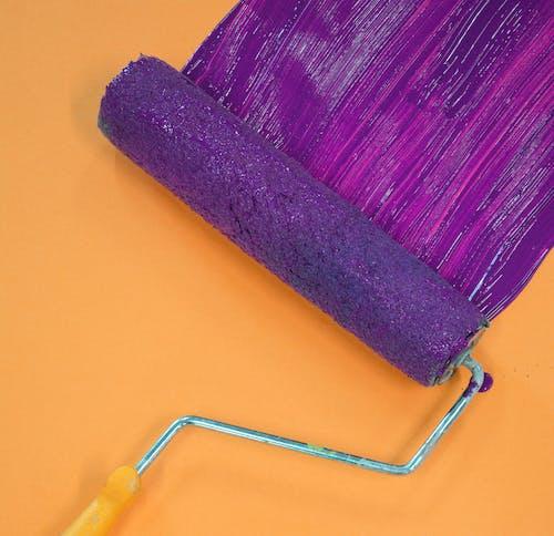 上色, 刷子, 染色, 滚刷 的 免费素材照片