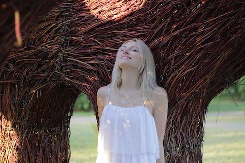 Gratis lagerfoto af attraktiv, blondine, elegance, fotosession