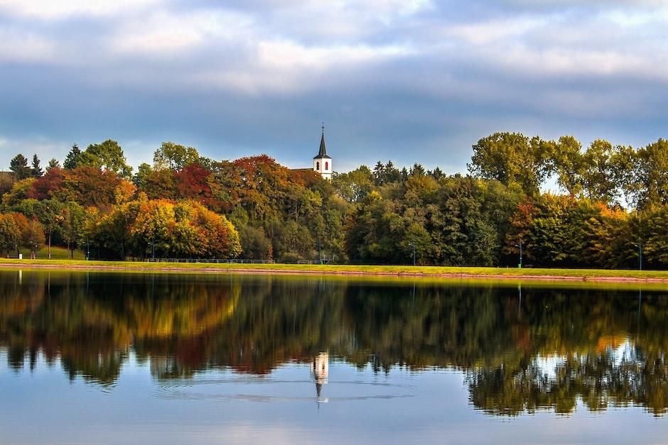 autumn, clouds, daylight