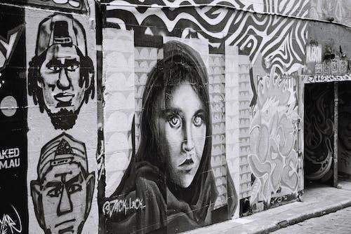 boya, duvar yazısı, Kent, melbourne içeren Ücretsiz stok fotoğraf