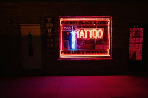 Gratis lagerfoto af belyst, lys, mørk, neonlys