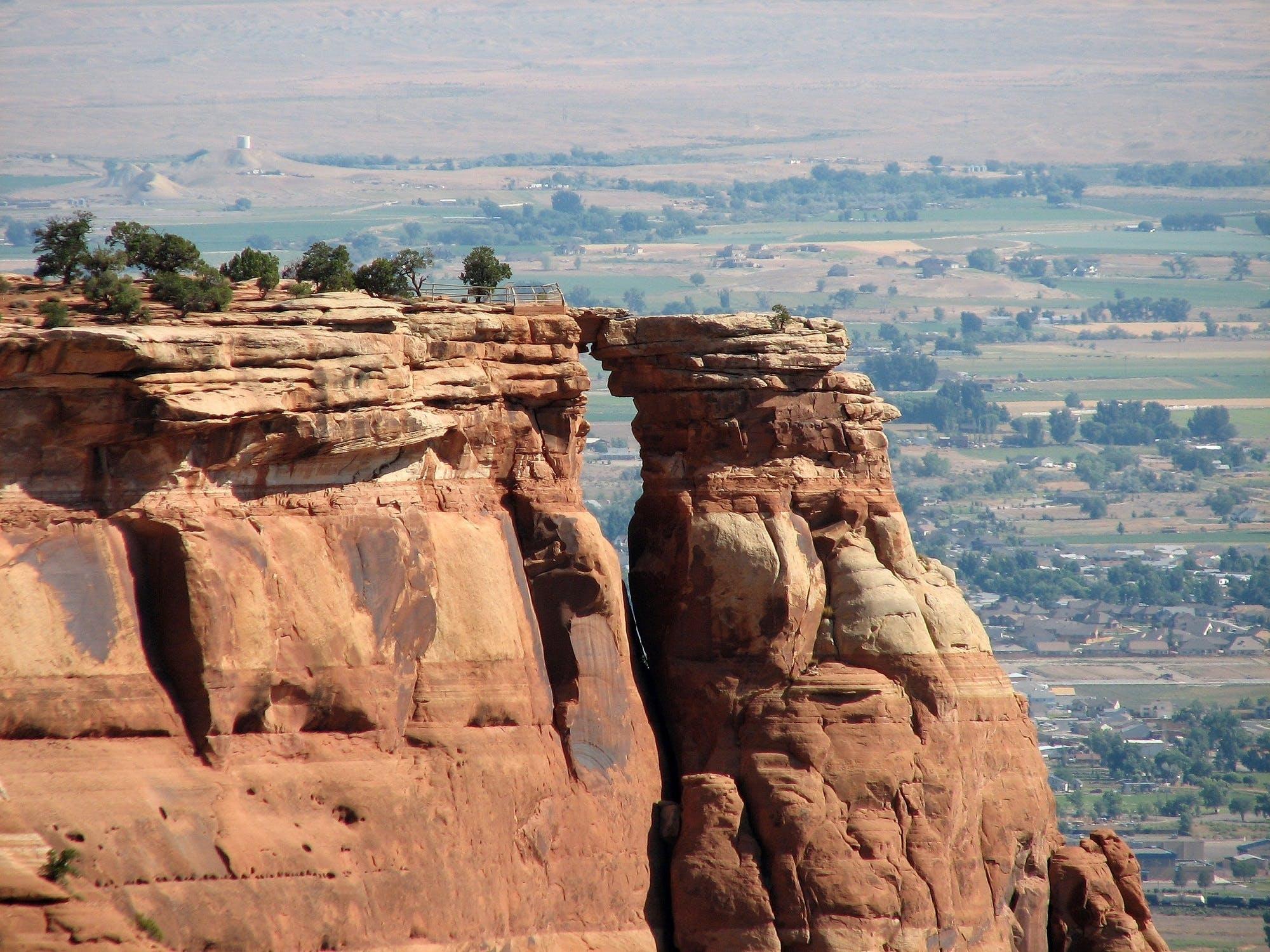 çöl, kum taşı, manzara, manzaralı içeren Ücretsiz stok fotoğraf