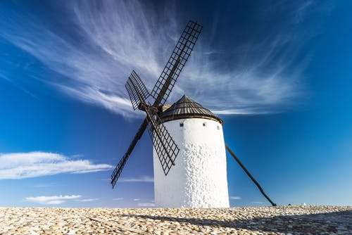 Бесплатное стоковое фото с архитектура, ветер, ветровая турбина, ветряные мельницы