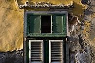 house, window, wooden