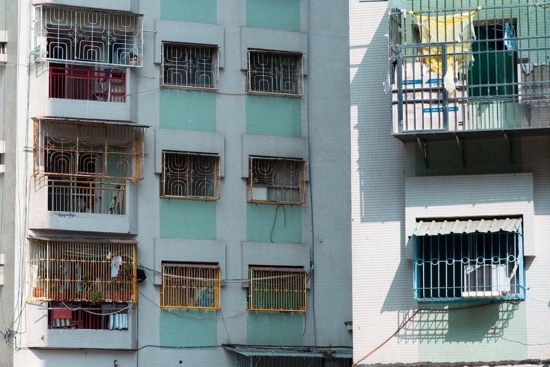 Fotobanka sbezplatnými fotkami na tému apartmány, Ázia, balkóny
