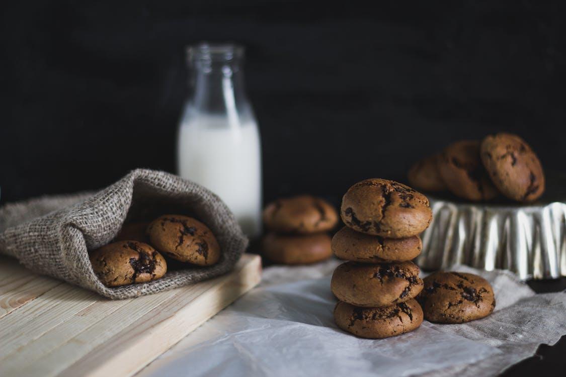 bàn, bánh ngọt, bánh quy