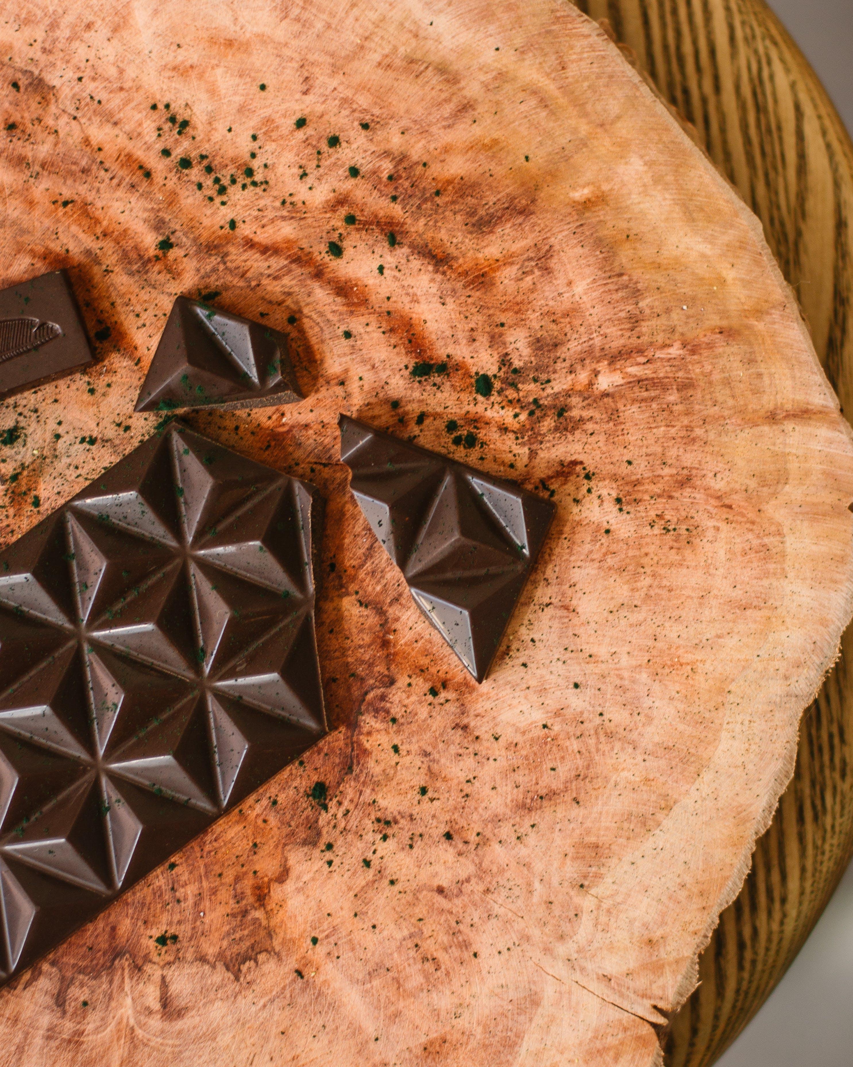 ahşap, çikolata, doku, Gıda içeren Ücretsiz stok fotoğraf