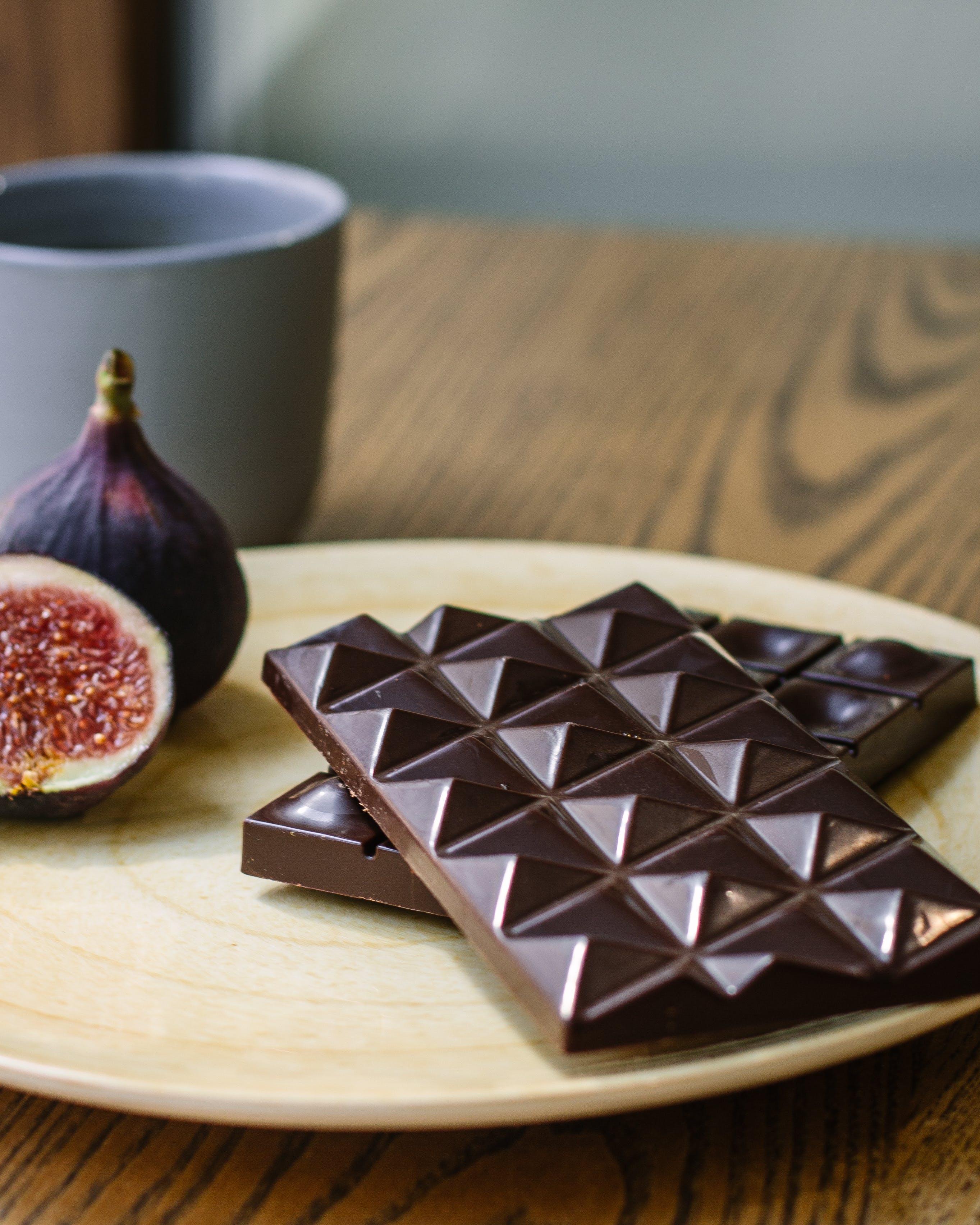 Gratis lagerfoto af Bordservice, chokolade, chokoladebar, delikat