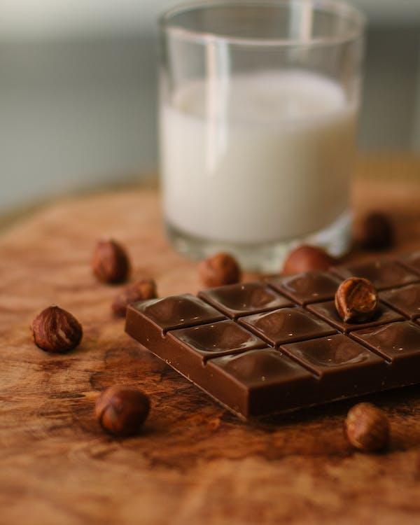 açúcar, alimento, barra de chocolate