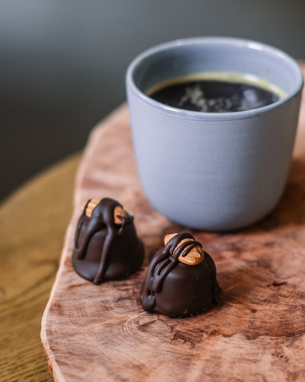 Chocolate Almond With Coffee