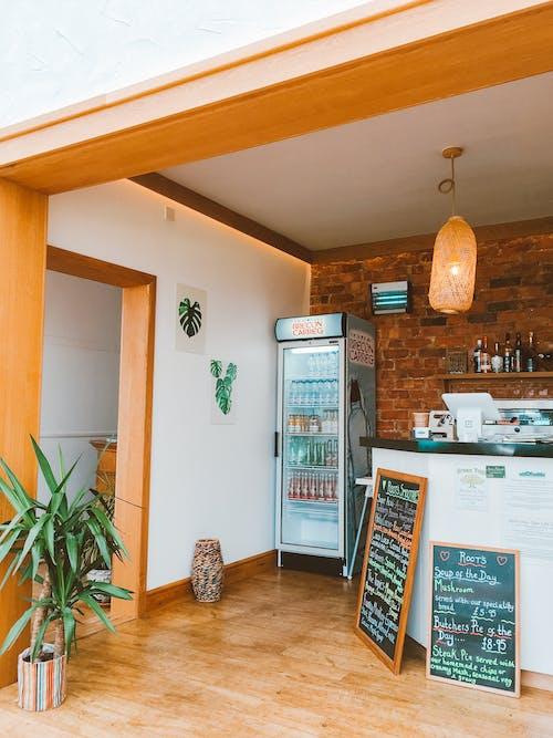 ahşap, bitki, buzdolabı, çağdaş içeren Ücretsiz stok fotoğraf