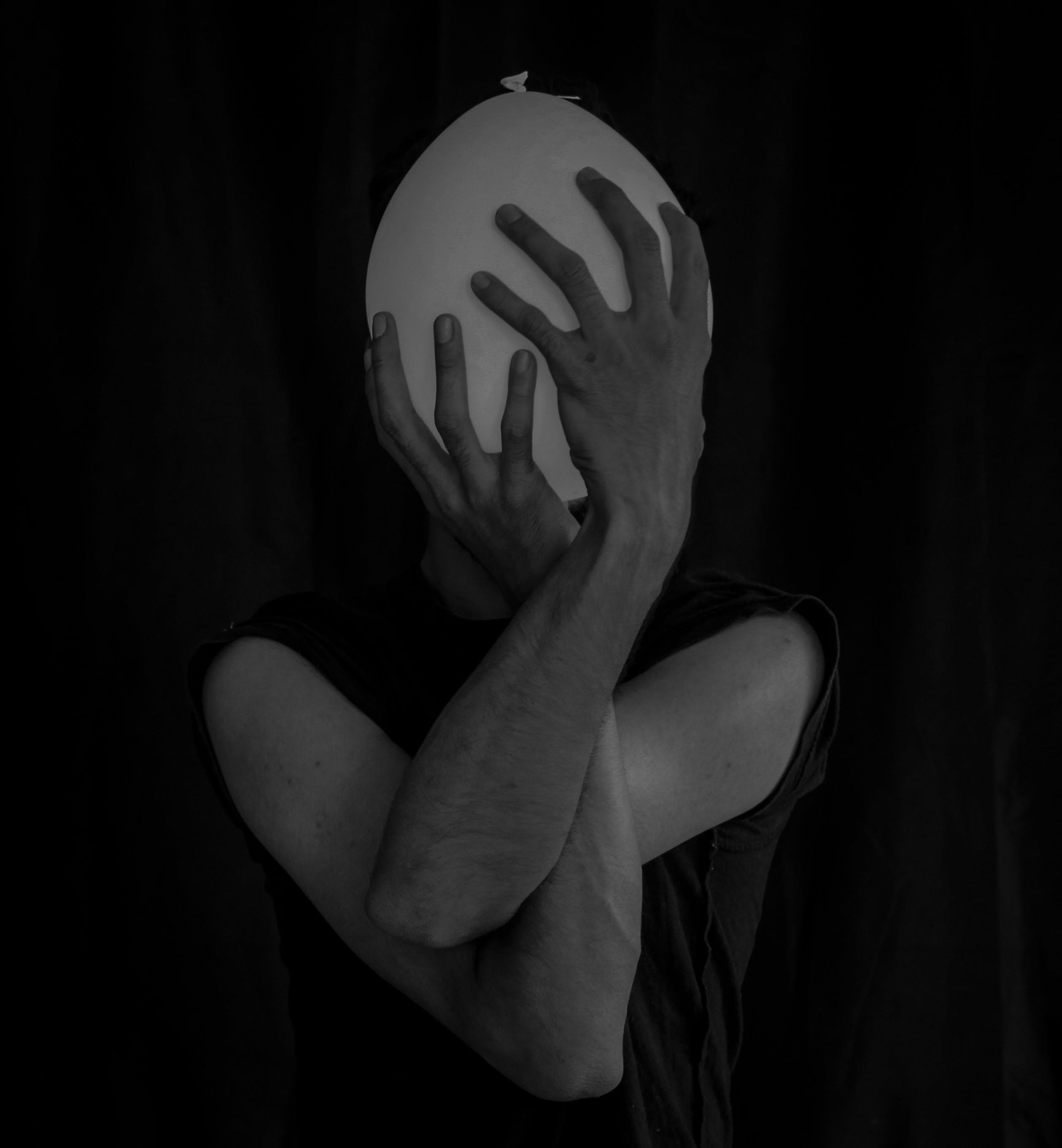 Gratis lagerfoto af ballon, fotosession, hænder, krop