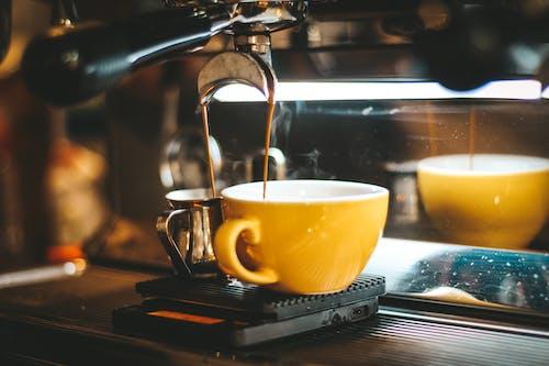 Gratis lagerfoto af brun, brygget kaffe, close-up, delikat