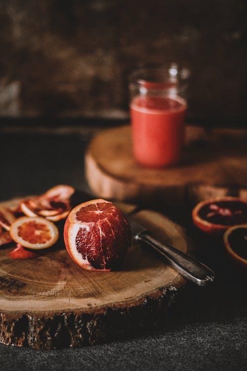 Fruit on Chopping Board