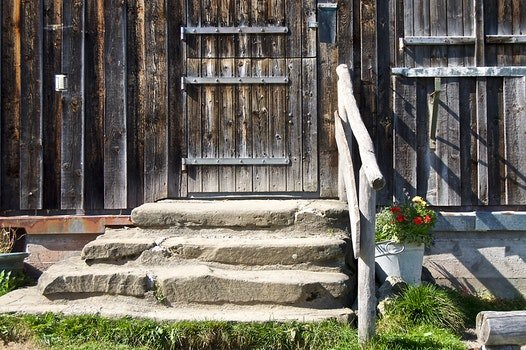 Free stock photo of wood, stairs, building, wall