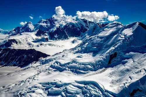 Alaska, bulutlar, buz, buz tutmuş içeren Ücretsiz stok fotoğraf