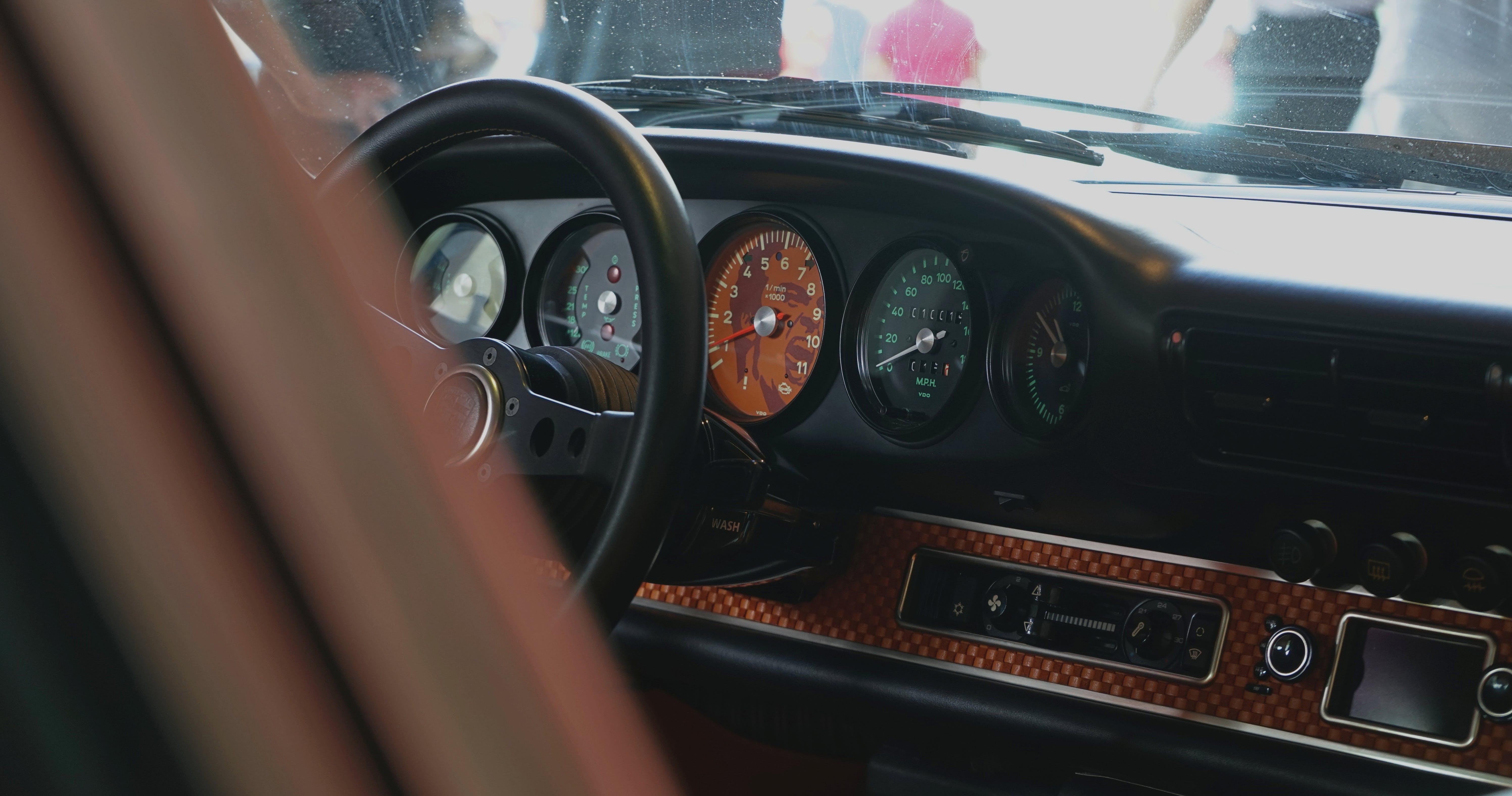 Free stock photo of car, porsche, vintage